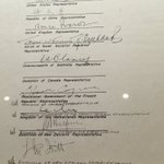 Canada signed the wrong line on the Japanese WWII surrender document and now it looks like shit, thanks Canada https://t.co/62CROUvMix