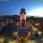 El Reloj Monumental de @Pachuca_ #Hidalgo hoy al atardecer. ¡Qué tal! https://t.co/JMNaTuDlgC