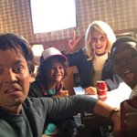 The cast of @Stranger_Things playing tonight.@FinnSkata @milliebbrown @GatenM123 @calebrmclaughl1 https://t.co/QgDqlidlRj