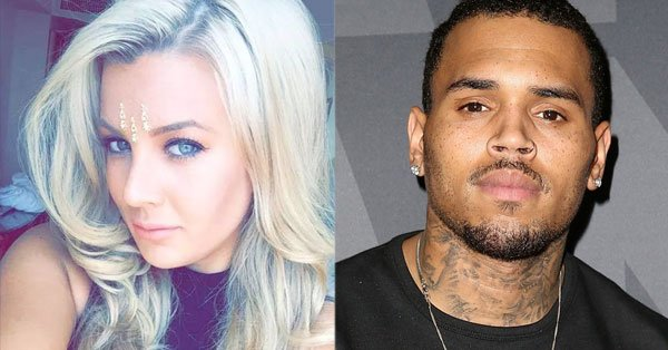 Baylee Curran claims she was scared for her life while at Chris Brown's house.