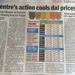 Centres action cools Dal prices. Arhar Modi!! Arhar Modi!! https://t.co/IX8l5pmyWY