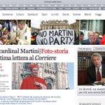31 agosto di 4 anni fa @chiesadimilano e tutta la città piangeva la morte del Cardinal Martini (Home del @Corriere) https://t.co/wsYkyUrhbq
