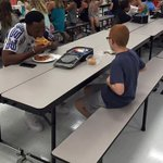 FSU's Travis Rudolph took the empty seat at the lunch table across from autistic boy #feelz  https://t.co/j1P6A0PvLo https://t.co/BKfaBZ5eZu