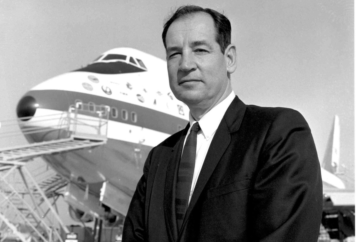 "The father of the 747, Joe Sutter has passed away. Pan Am owed much to his ""29 months from conception to rollout."" https://t.co/U2LMq7nkip"