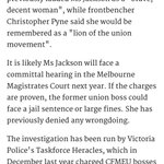 They told us this woman was credible to hurt Labor. Will they give character evidence for her in Court? #auspol https://t.co/UvhRpiNzlC