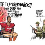 A picture that sums up a thousand tweets in #VeteransForKaepernick thread https://t.co/ljL6yNVikH