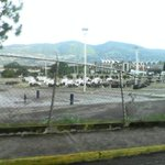 Así Amanece Pueblo Nuevo - San Cristóbal.  Estacionamiento de la plaza de toros. 07:40am 31/08/2016 https://t.co/ObwniT4Asy