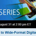 Dont forget todays free webinar at 2pm ET. Come with questions! https://t.co/QlQM1DSBN6 #SGIA #wideformat https://t.co/Gz87PYR3gb