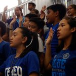 Ateneo de Davao athletes take part in the opening of DACS 2016 at San Pedro College https://t.co/wdUwSyKZEW