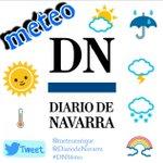 Mañana vuelvo con las previsiones meteorológicas en @DiariodeNavarra tanto en papel como digital. Os espero😃 https://t.co/lytlwWD3kh