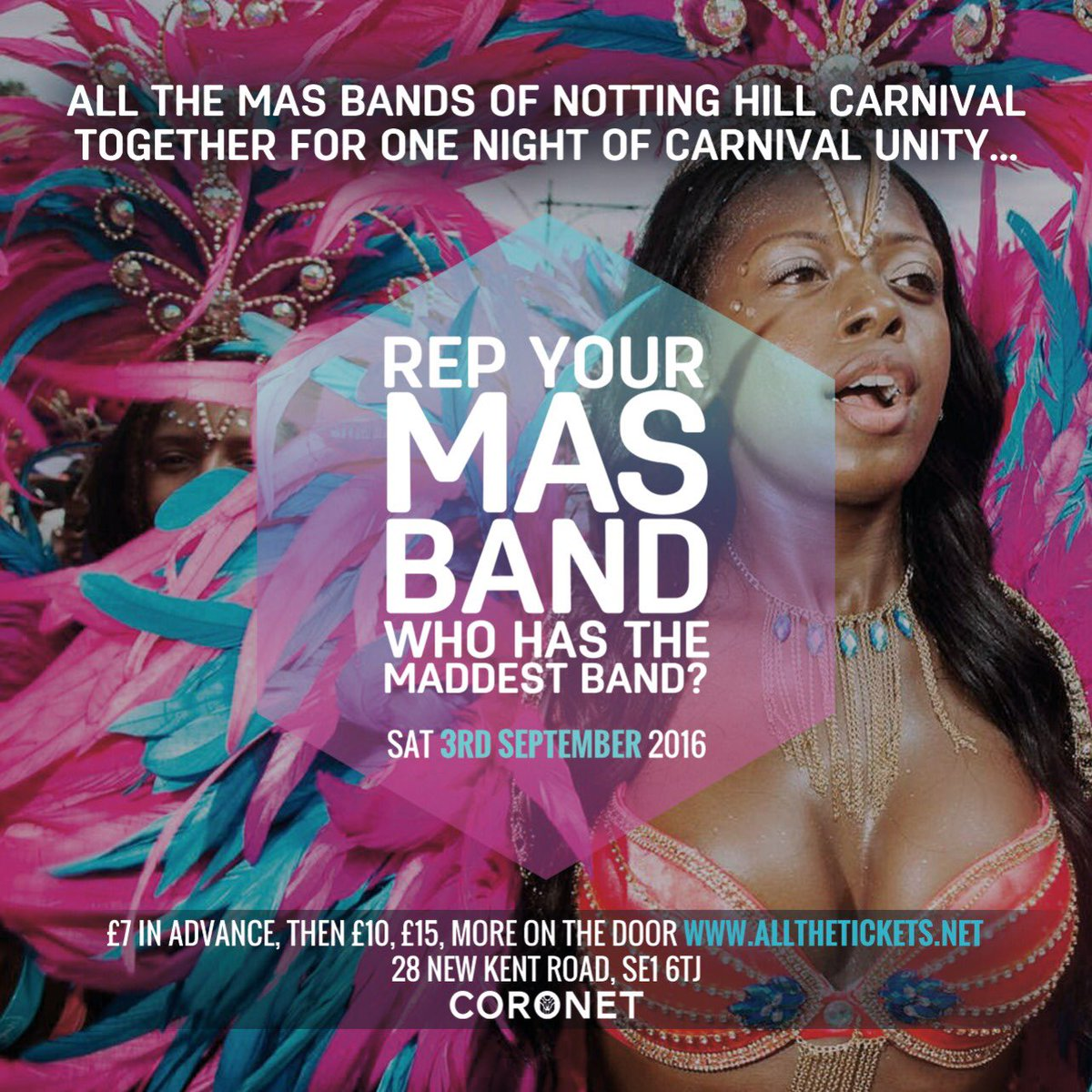 Which Mas Band Do You REP?! Come & Jump Up This SAT For Di Last Lap!!.. https://t.co/WVvrtRAo4f