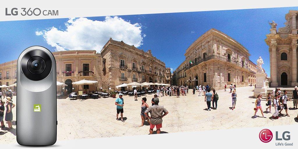 Hai mai visto #Ortigia così? Rivivi i tuoi momenti a 360° con #LG360CAM. https://t.co/ZUUgKlHjiK https://t.co/EvHpaDSE7N