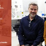 Prof @EGoldys & Dr Martin Gosnell win the @ANSTO Innovative Use of Tech Prize #Eureka16 https://t.co/JS5AMCv28b https://t.co/ev5SbMizTe