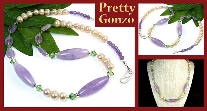 Nature Inspired #Amethyst #Necklace, Freshwater #Pearls & Crystals - #PrettyGonzo #Jewelry https://t.co/CavlhIkilE https://t.co/K292rrhPxh