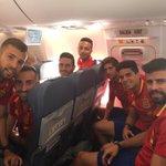 To Belgium! ✈️ Vamos @SeFutbol !!! 💪🏼 https://t.co/R3g9W2Qz1R