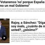 Una más de @marianorajoy 😂💪 lo bueno que ha dicho verdades como puños. Si con 170 votos es malo Sánchez es penoso 😂 https://t.co/iKjqOkOsKh