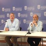 .@josebaasiron y Paco Etxeberria anuncian la exhumación de Mola y Sanjurjo del Monumento a los Caídos #Memoria https://t.co/nSbfIEYiEl