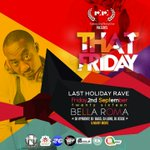 2 DAYS MORE!! Accra Will Be LIT!!! This Friday inside Bella Roma!! OSU!! @official2131 @liveywnf #thatfriday https://t.co/7pM4J1XPwE