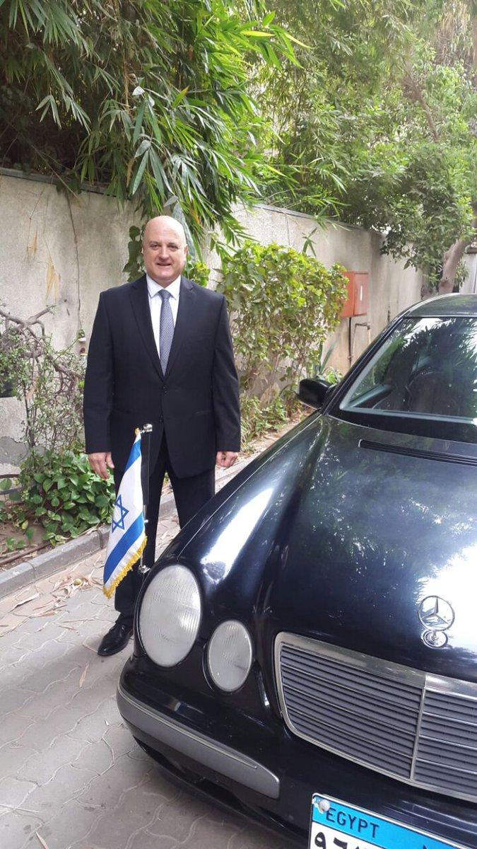 تم اليوم تقديم أوراق اعتماد الدكتور دافيد جوفرين, سفير دولة إسرائيل لدى جمهورية مصر العربي الرئيس عبد الفتاح السيسي https://t.co/RyxU6zn2Ld