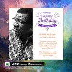 Happy Birthday to our General Overseer, Pastor @MensaOtabil! https://t.co/ozK5aDNc0L
