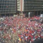 "Imágenes reales de ""toma"" oficialista en Caracas (30Ag). ¡Imponente, pues! ;-) #1SepVzlaLibre #1S #Venezuela #31Ago https://t.co/Iy6kFo25ao"