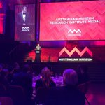 Congratulations Dr Robin Torrence on winning the AMRI Medal for her work in anthropology. @austmus #eureka16 https://t.co/CS1i3r22Mm