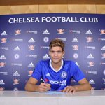 Photo: Marcos Alonso signs for Chelsea #CitiSports https://t.co/QiOooH5tgP