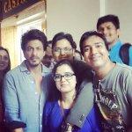 Shah Rukh Khan With Lucky FANs at #Prague https://t.co/jFeqwRRI0p