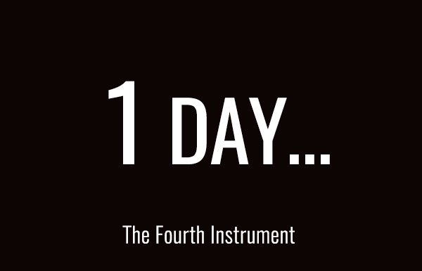 1 DAY - The Fourth Instrument From Spectrasonics :-) https://t.co/JLhXe0GT59