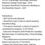 "Session Proposal: ""APIs & Cloud Security"" @Sibain @SearchYourCloud #InfoSec #BigData #IoT #ML #DigitalTransformation https://t.co/bofxWpILQX"