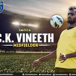 We are excited to have Vineeth back with us at Kerala Blasters. #YellowMeinKhelo https://t.co/oXgqzzB27d