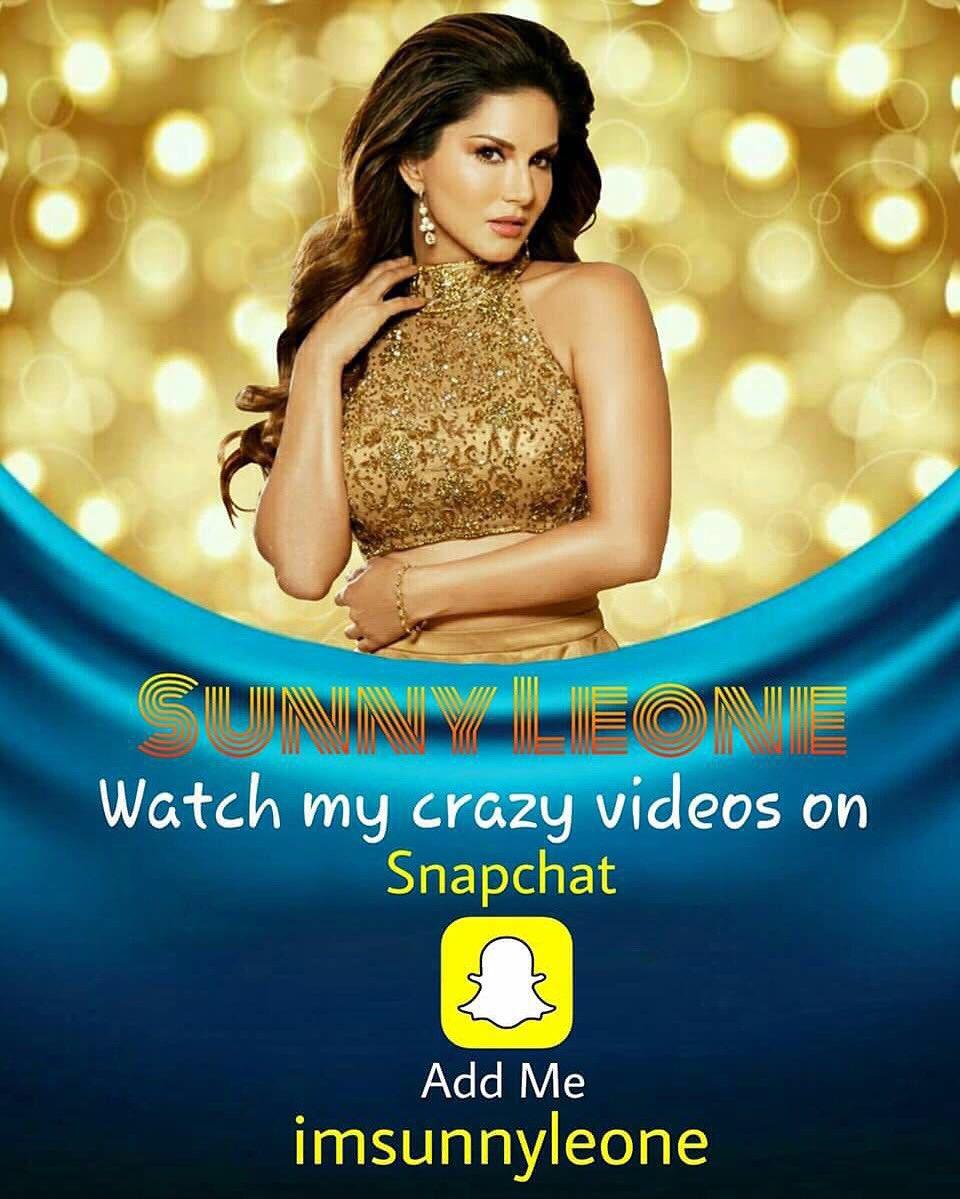 Watch all my crazy videos in snapchat - imsunnyleone https://t.co/bHwmtAOLUg