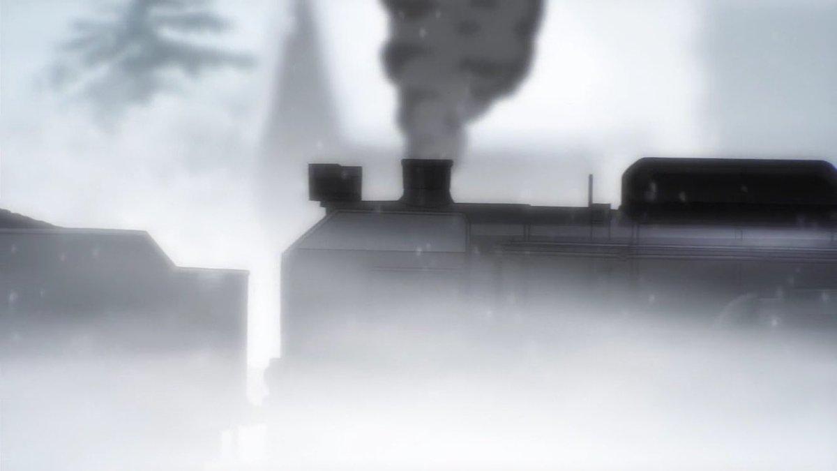 RAIL WARS! -日本國有鉄道公安隊- 1話その3C62-2、C62-3鉄道OJT最終訓練の投炭訓練に重連で登場。