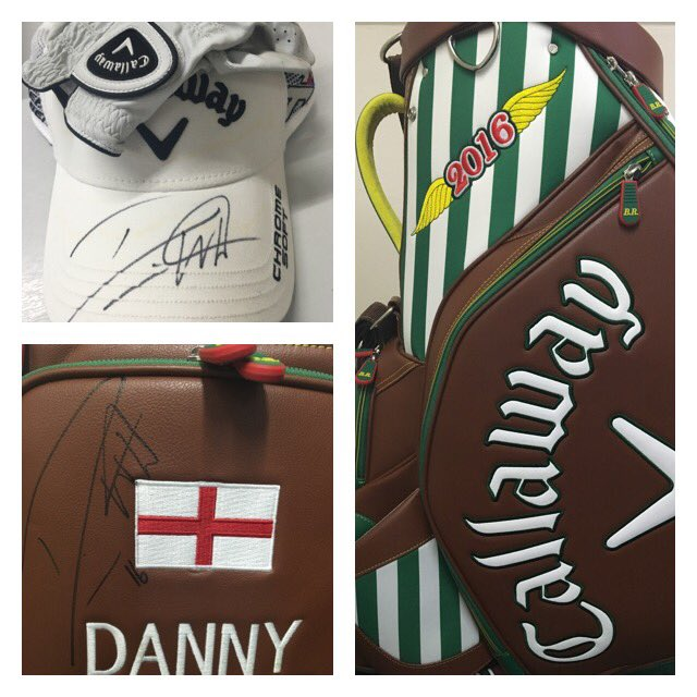 Make sure you enter our competition before tomorrow! RT & follow for a chance to win @Danny_Willett bag, glove & hat https://t.co/h1GeduSt1t