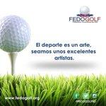Seamos  unos  Artistas  del  deporte.  #fedogolfRd #golf #instagolf #swing #grass #green #field #putter #hoyo #RD #… https://t.co/B37k8YxBKs