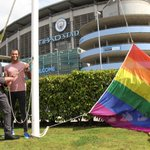 Great to see @ManCity backing @ManchesterPride on Saturday and showing their support to the LGBT community! https://t.co/ARd3YHMrYE