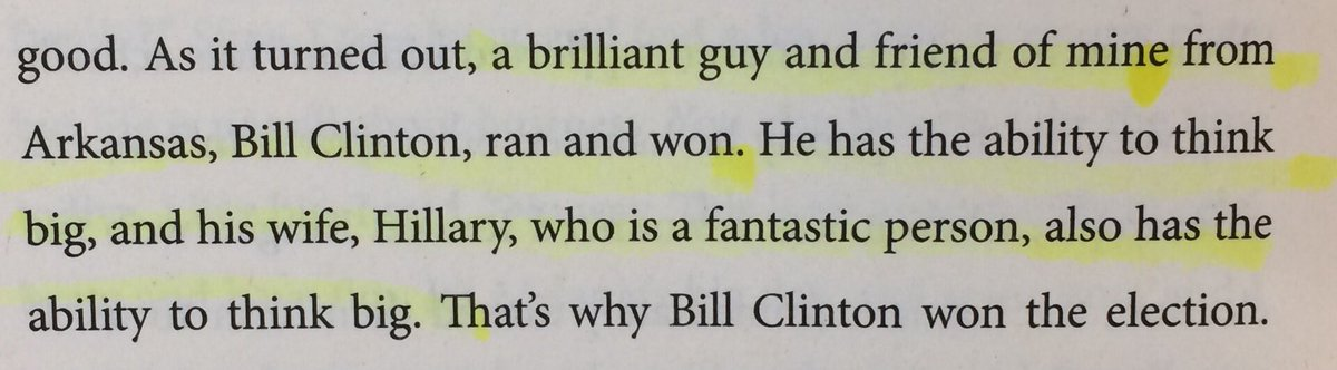 Another one of my favorite parts of Trump's book Think Big. https://t.co/9khMWEvsNE