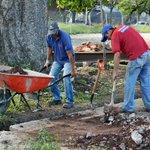 Construcción del parque gran Hugo en la Av Marginal del Torbes Mcpio San Cristóbal https://t.co/k4xRgJQxhg