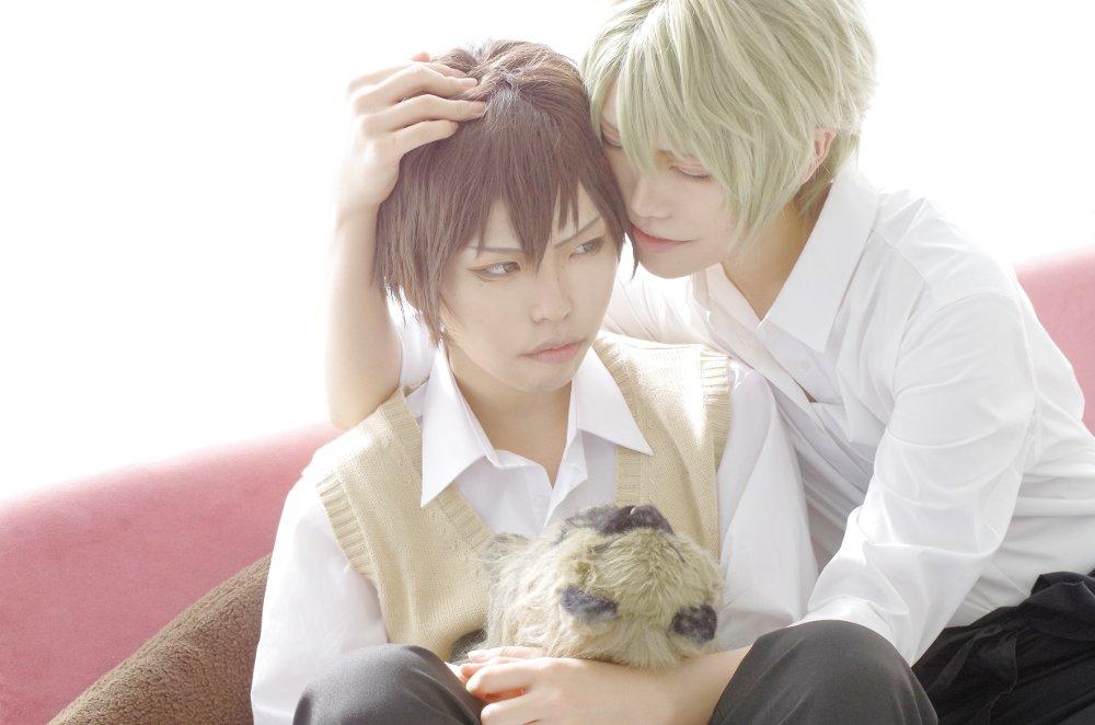 【コス※顔近いよ】SUPER LOVERSかわいい、愛でたい。(晴:玖羽/零:たつあ/photo:たま )