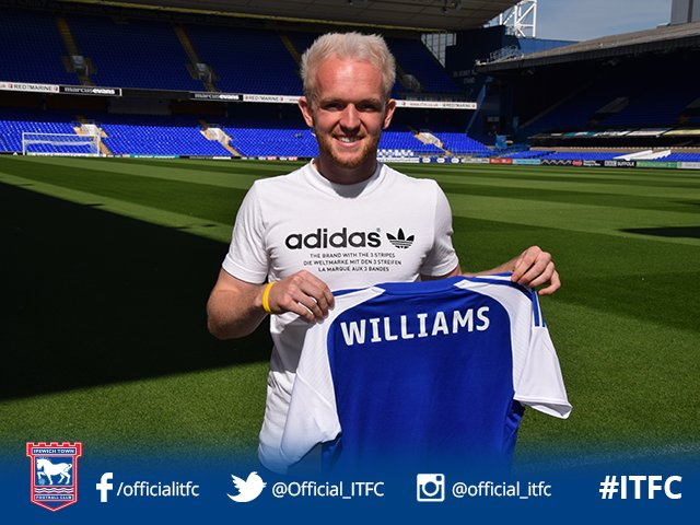 HE'S BACK! Jonny Williams returns to Portman Road for a fourth loan spell as he signs up for the season #itfc https://t.co/ujH3YrHw4T