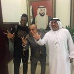 PHOTOS....Gyan back in the UAE ahead of Al Ahli deal #3Sports https://t.co/RaCPH8jyVZ