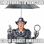 Rain returns to #Vancouver. And its looking wet for the rest of the week. Full forecast: https://t.co/5TQHCmd50z https://t.co/3xSIWLDBqb