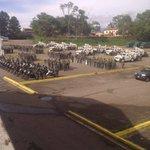 Autoridades confirman entrenamiento militar en el estacionamiento de la plaza de toros de San Cristóbal https://t.co/w7bStTbR25