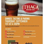 Dont forget #twithaca! @ithacabeer pairing dinner tomorrow night 6pm @coltivareithaca Reserve your spot NOW! : ) https://t.co/Nj4tG8R8Ty