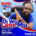 @kwamebee is now Driving Accra home on #DiWuLaneMu. Listen via https://t.co/BKh9aLbjtJ 3pm - 8pm. #DiWuLaneMu oo https://t.co/kyOTwnnlbz