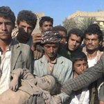 صعدة : صور #مجزره_الصحن_صعده التي ارتكبها طيران العدوان السعودي الأمريكي يوم امس في منطقة الصحن https://t.co/tn3mM6v6hI