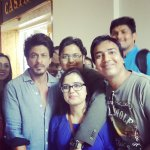 #FanMoment ~ Shah Rukh Khan @iamsrk with a group of fans in Prague https://t.co/EXxitBUW2N