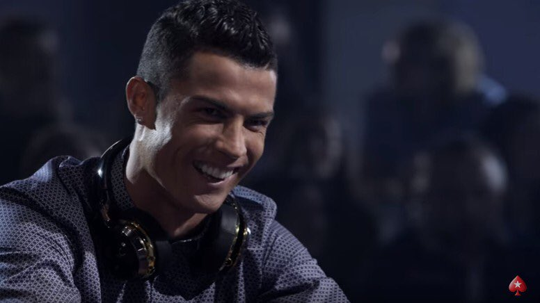 Loved playing poker with Cristiano Ronoldo @Cristiano ⚽????#Pokerstars Watch it here: https://t.co/Blbadk8iI5 https://t.co/UIB2bAeivY