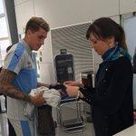 #Eliminatorias | @Uruguay viaja rumbo a Mendoza para enfrentar a @Argentina mañana, 20:30h: https://t.co/yFTXYwGeIm https://t.co/JWpq4VFtlt
