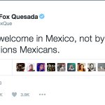 Former Mexican President @VicenteFoxQue shared his thoughts about #TrumpEnMexico on Twitter. https://t.co/Q6HgknZMvY